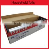 household roll for food packaging aluminium foil grill sheets