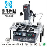 Dinghua DH-A01 hot air infrared bga rework station repairing sony electronics and xiaomi motherboard