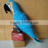 2015 newish design of crochet parrot pattern toys,crochet baby toys.