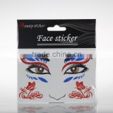 Best Sell China Temporary Party Face Stencil Airbrush Tattoo Face Tattoo