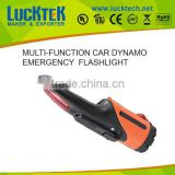 LUCKTECH TOP SELLER MULTI-FUNCTION DYNAMO EMERGENCY car flashlight 5LED