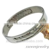 wholesale high polish stainless steel 3 inch bangle bracelets