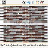 Demax frost glass mosaic mix stone marble