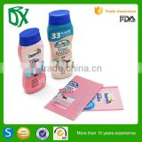 Import cheap goods from China customized printing baby shampoo bottle labels for packaging PET shrink sleeve