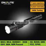 Ninghai Police LED Cree rechargeable power outdoor led flashlight