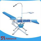 New version mobile dental chair with LED light/foldable dental chair CS32B