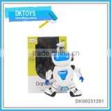 Cute desin funyy b/o dancing robot toy for kids