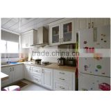 High Quality Modern custon mdf laminate solid wood kitchen cabinet/kitchen cupboard price made in China