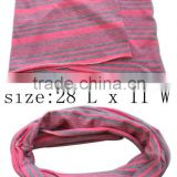 fashion stripe printed fabric scarf