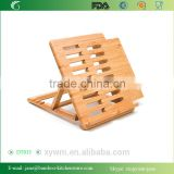 DT013 Eco-Friendly Bamboo Expandable and Adjustable Ipad Stand and rack