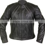 Men Leather Motorcycle Jacket/ Biker Racing Jacket / Men Leather Motorbike Jacket / Leather Motorbike Suit / Motorcycle Gloves