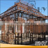 decorative metal garden gazebo, outdoor decorative gazebos