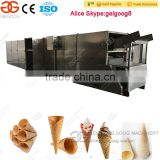 Gelgoog Sugar Cone Baking Machine Machine Making Cone Ice Cream Sugar Cone Machine Price