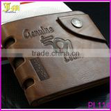 New Fashion Mens Genuine Leather Bifold Wallet Credit/ID Card Holder Leather Slim Wallet