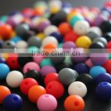 Food grade silicone beads chewing Beads for custom baby necklace