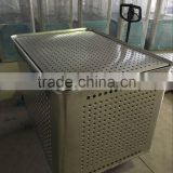 Aluminum container with spring bed for the clothing factory/textile factory/laundry