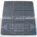 interlocking drainable click mats