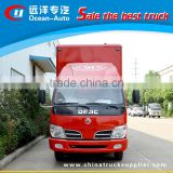 Right Hand Drive DFAC Mobile Outdoor Led Advertising Truck With 2 Sides Lifting Led Screens P6