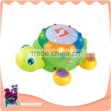 China new products kids language learning education turtle animal musical toys for babies