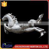 Stainless steel running horse sculpture for sale NTS-026LI