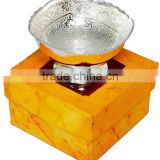 Silver plated gift items/fruit bowls