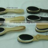 wooden clothes brushes