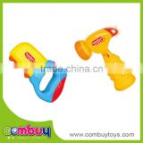 Baby kids play musical saw set mini plastic toy hammer