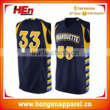 Hongen apparel 2015 custom reversible full sublimation basketball shirt quick dry jerseys youth basketball uniforms