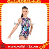 Sequin kids thong gymnastics dance leotards girls custom sportswear mix size leotard cotton/spanex