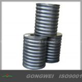 Rubber spring for vibrating equipments