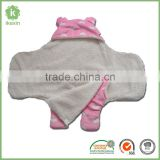 Hot Sale Fluffy Thermal Wearable Blanket For Baby