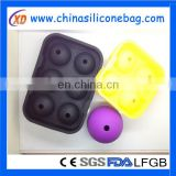 Silicone Ice Ball Mold Sphere Mould Tray
