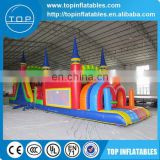 Guangzhou kids equipment sports inflatable obstacle course with EN14960/EN15649