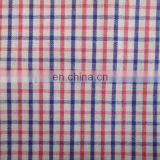T/C Knit fabrics for T-Shirt /check style yarn-dyed fabrics