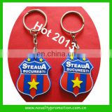 Football Club Logo 3D Rubber PVC Keychain
