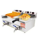 GAS/ELECTRICAL chicken pressure fryer chicken frying machine with oil filter system, dough sticks frying machine