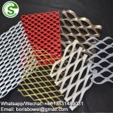 Light weight indoor and outdoor decorative aluminum extended mesh