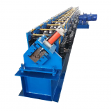 Seamless Metal water gutter automatic cutting Roll Forming Machine