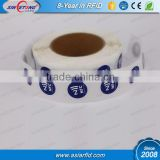 Diameter 20mm Small Rfid NFC Tag/Passive Rfid Tag 13.56mhz RFID Sticker