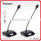 Guangzhou factory wired video tracking conference system conference table microphones YC836