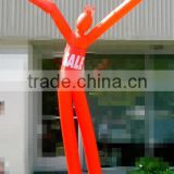 custom good quality two legs inflatable air dancer