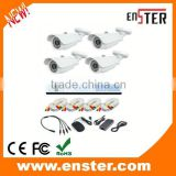 hot selling700TVL Home Security Camera DVR Kit Indoor Outdoor 4CH CCTV DVR Kit ip camera kit
