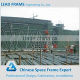 Cost-effective prefabricated space frame cement plant with bolt ball