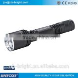 HIGH POWER RECHARGEABLE ALUMINUM CREE LED POLICE FLASHLIGHT