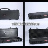 Heavy Duty Carrying Case With wheels/Plastic Material China Rifle Case /Plastic Gun Case for Army Using