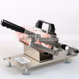New design manual Frozen Meat slicer Automatic meat-sending device Frozen Meat slicing machine