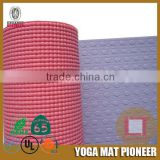 2015 new product organic yoga mat brands made in China