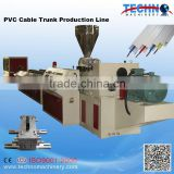 PVC Profile Electrical Conduit Trunking Channel Extrusion Line