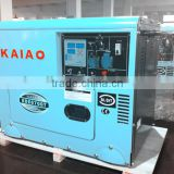 Air-cooled diesel generator/small portable generator KAIAO KDE6700T