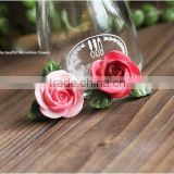 AN460 ANPHY European Style Fashion Household Decoration Resin Rose Fridge Magnet Holder Display Stock 2.5*2.8cm